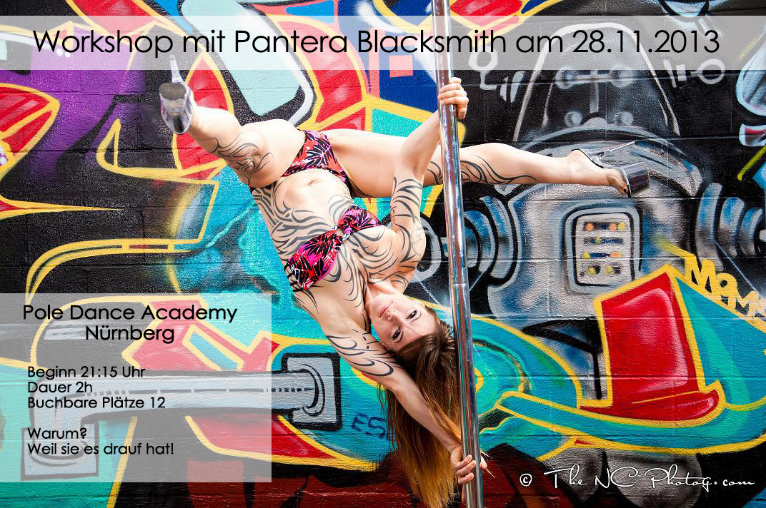 Pantera Blacksmith Pole Dance Workshop