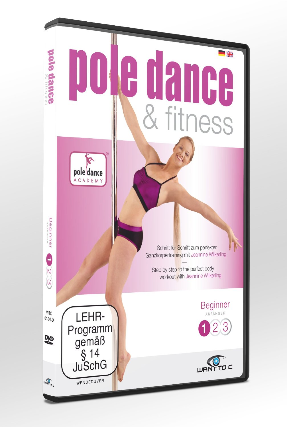 Pole Dance & Fitness DVD Beginner Jeannine Wilkerling